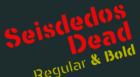 Seisdedos Dead -Blur Stencil-