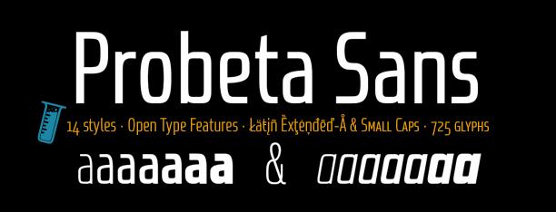 Probeta Sans & Condensed
