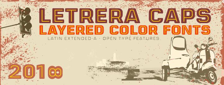 Letrera Caps -Layered & Color-