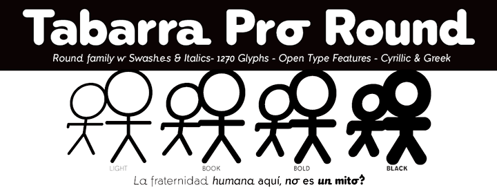 Tabarra Pro Round Fonts