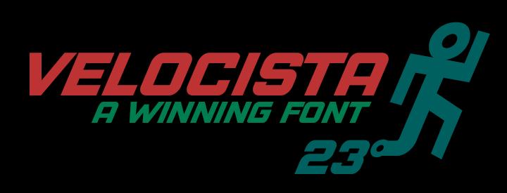 Velocista Display Fonts