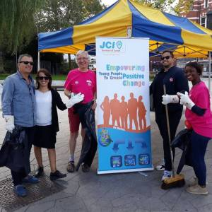 DéFi Jette a participé au World Cleanup Day du 15 septembre