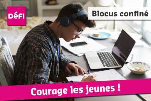 Blocus, session à distance, confinement… Courage les jeunes !