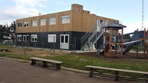 De nouveaux locaux pour l'école Diabolo par Véronique Caprasse – échevine