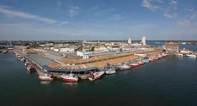 vue aérienne port de lorient