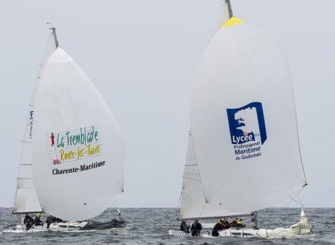 LM Guilivnec Spi devant La Tremblade