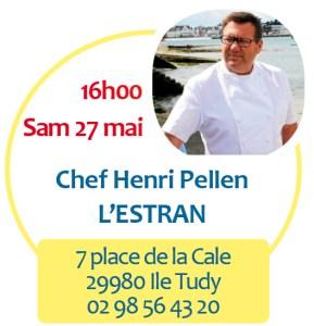 Henri Pellen du restaurant L'Estran
