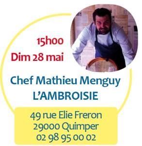 Chef MEnguy Ambroisie