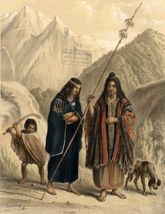Glosario de la pampa húmeda (predominio de la lengua mapuche)