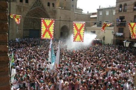 Opening ceremony Huesca - San Lorenzo