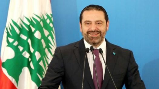 Le Premier ministre libanais, Saad Hariri