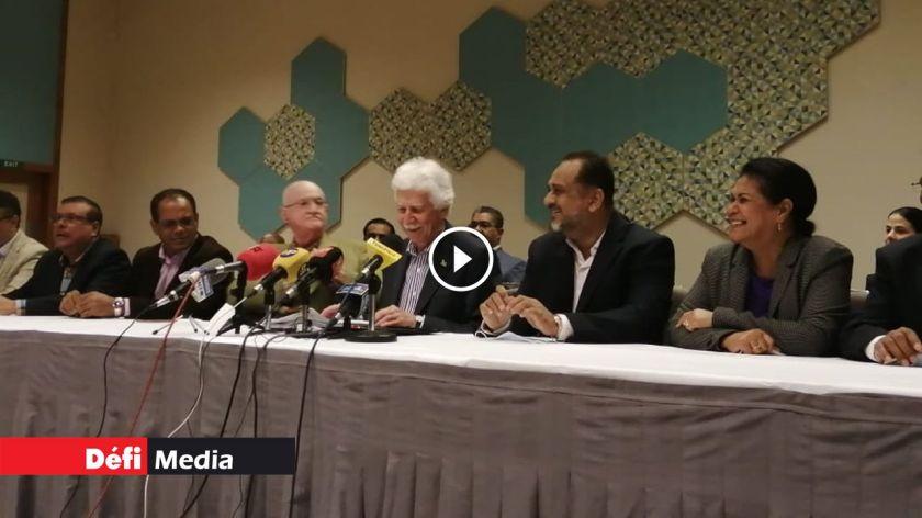 [Video] Suivez en direct la conférence de presse du Leader du MMM, Paul Bérenger