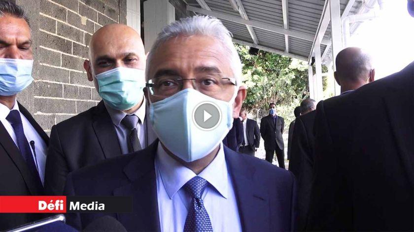 [Video] Le PM : « Mo bien sagrin ki enn kamarad ki ti ar nou nepli la...»