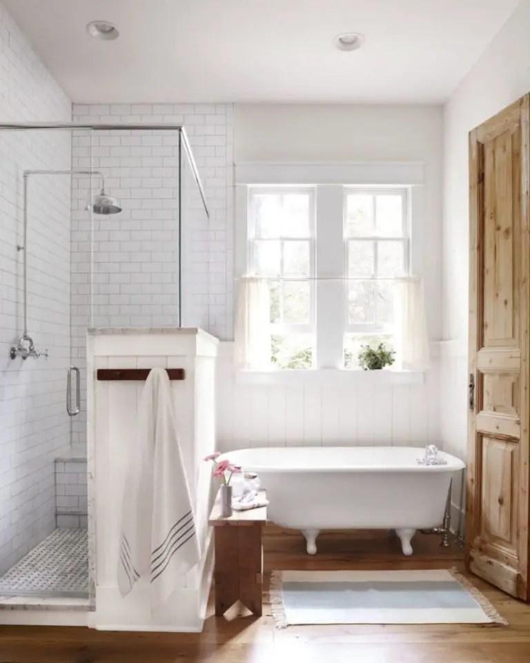 38 gorgeous farmhouse bathroom decor