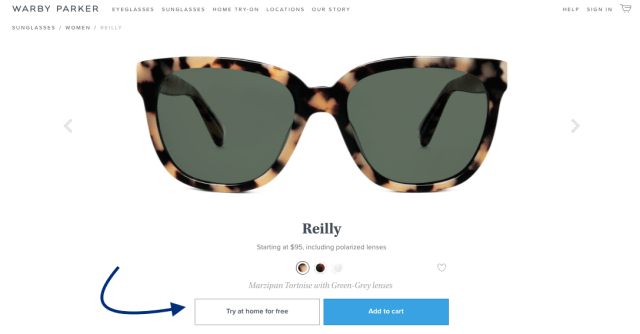 251cec19b52 Warby Parker lets you try glasses at HOME for free before purchasing ...