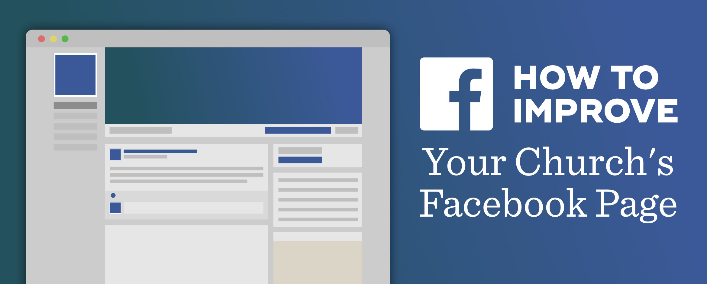 How To Improve Your Churchs Facebook Page Part 3 Information