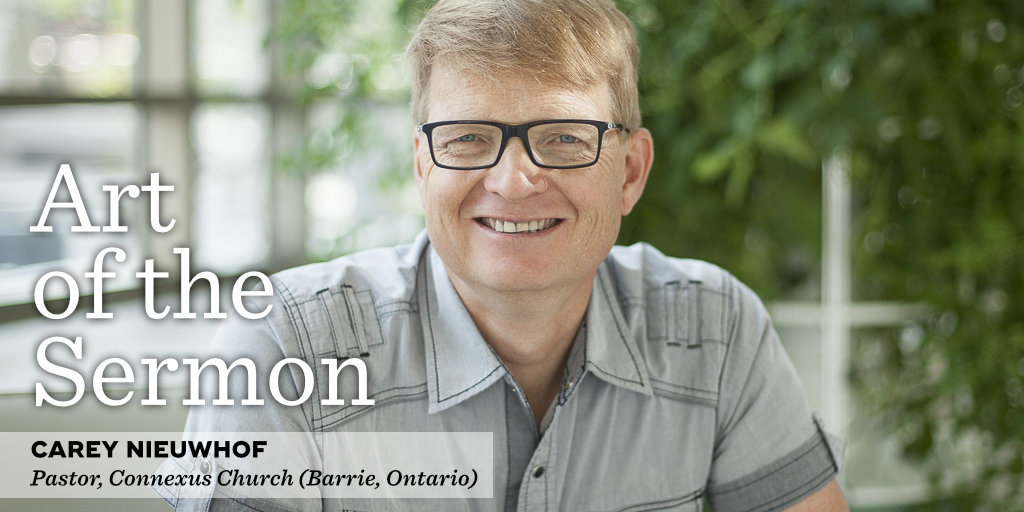 50: Preaching as Leadership – An Interview with Carey Nieuwhof – Art of the Sermon