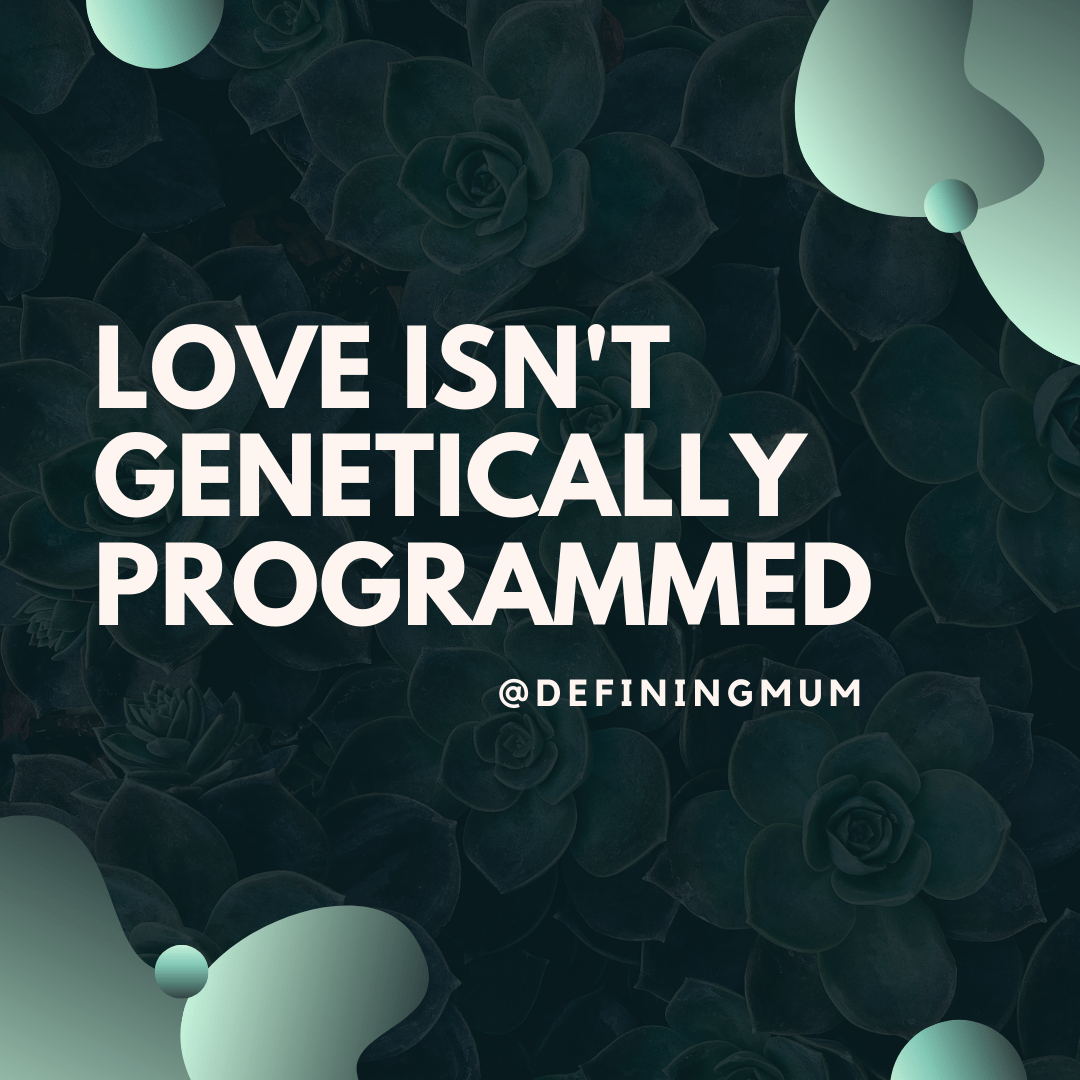 Love isn't genetically programmed