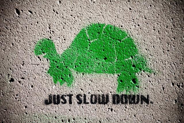 Slow Down. Photo Credit:Thomas Hawk