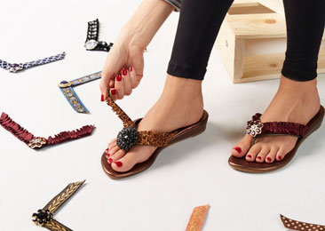 Lindsay Phillips SwitchFlops ... One shoe gives so many styles. Great vacation shoe!