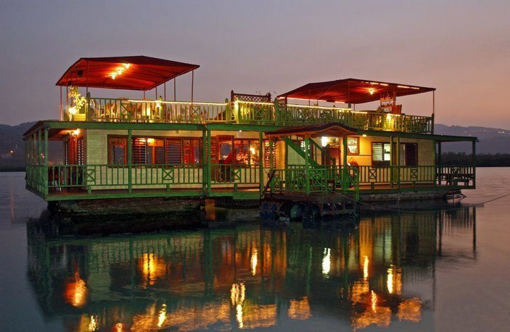 The House Boat Grill in Montego Bay Jamaica