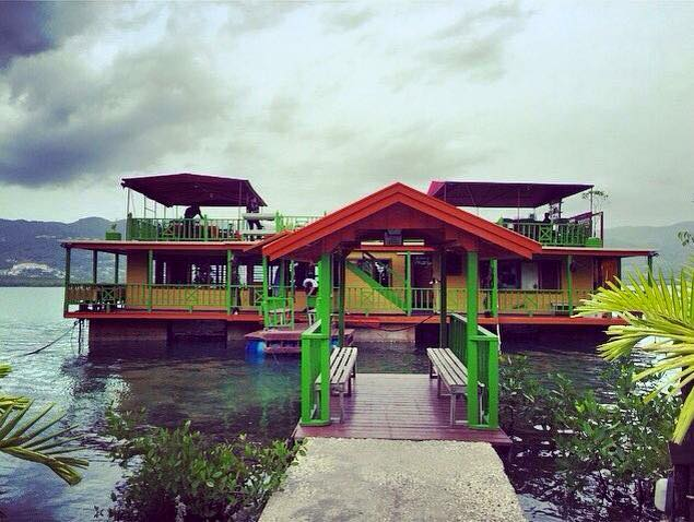 The Houseboat Grill in Montego Bay Jamaica