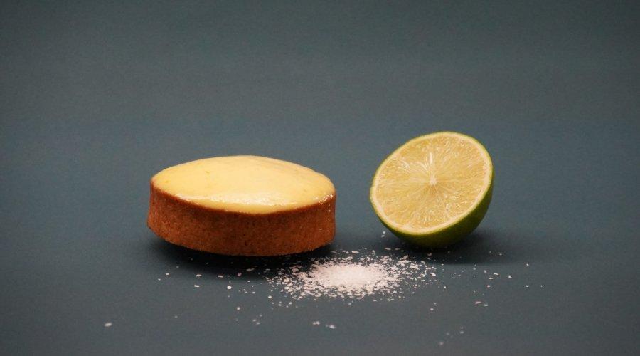 Tartelette citron vert noix de coco