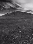 Nous connaissons tous les elfes islandais. On dirait même qu'il y en a un qui survole une colline de Jökulsàrlön.