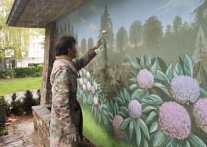 Embellir l'espace public : une fresque sq. Joséphine Charlotte