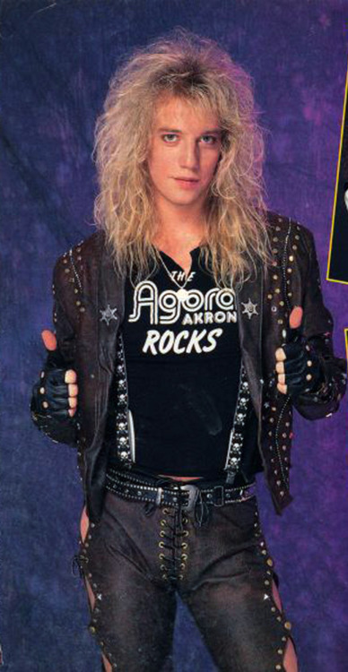 Jani Lane Warrant Def Leppard And Rockstar Photographs