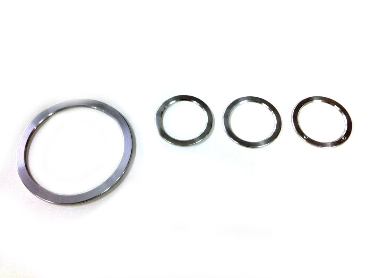 Aluminium Tellerklok Ringen