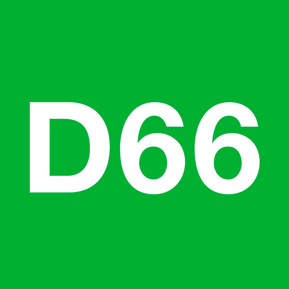 d66 tweede kamer