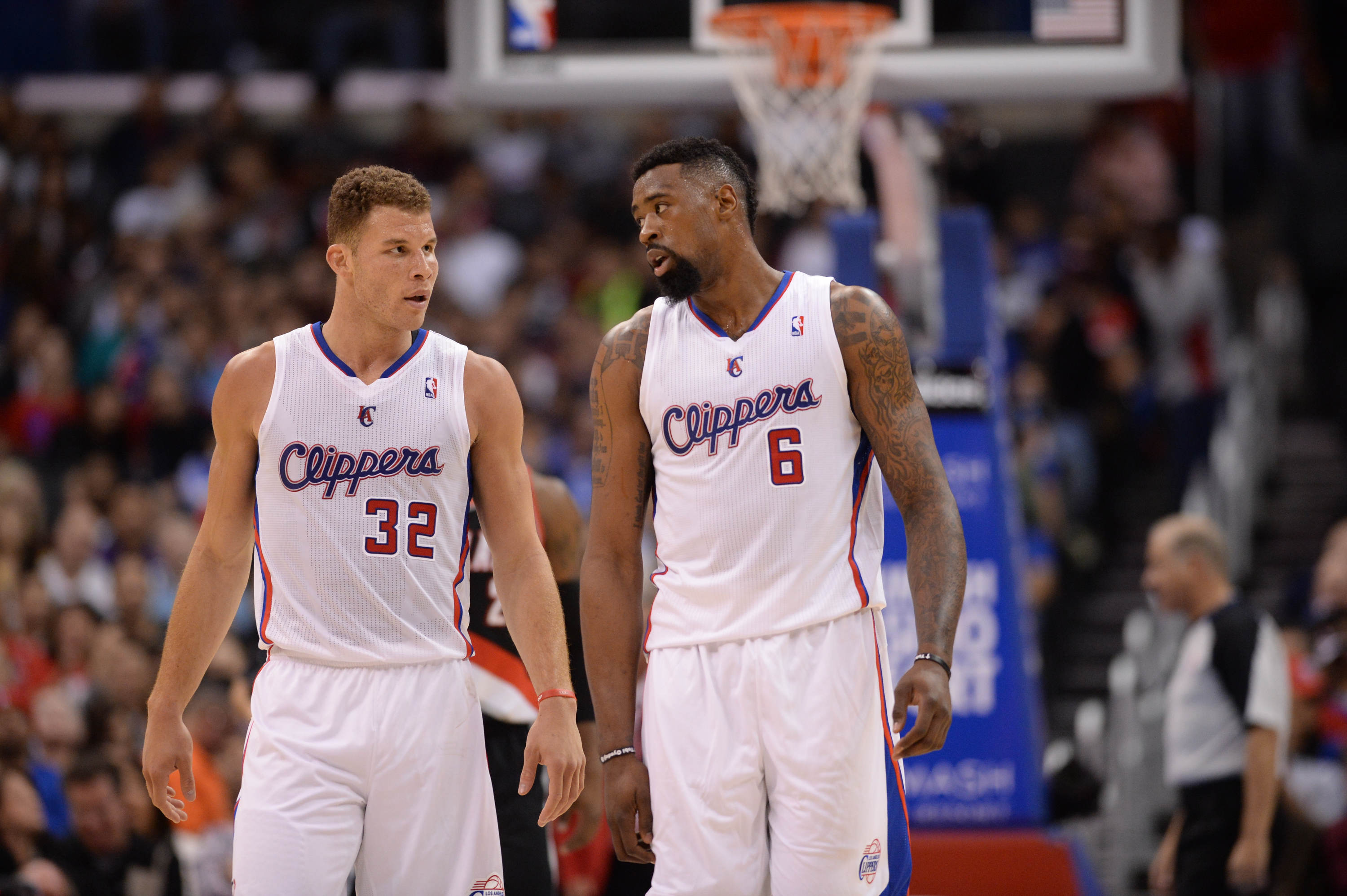 Image result for blake griffin deandre jordan