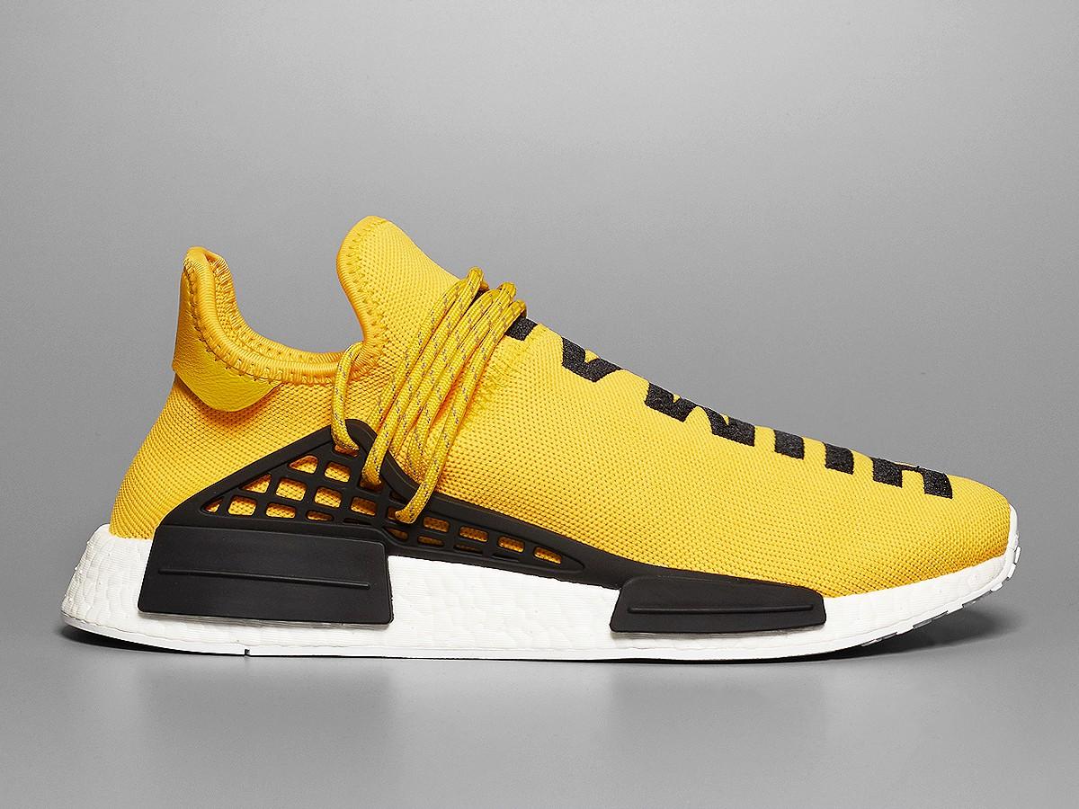 1d51e79ab13 pharrell williams adidas nmd human race yellow