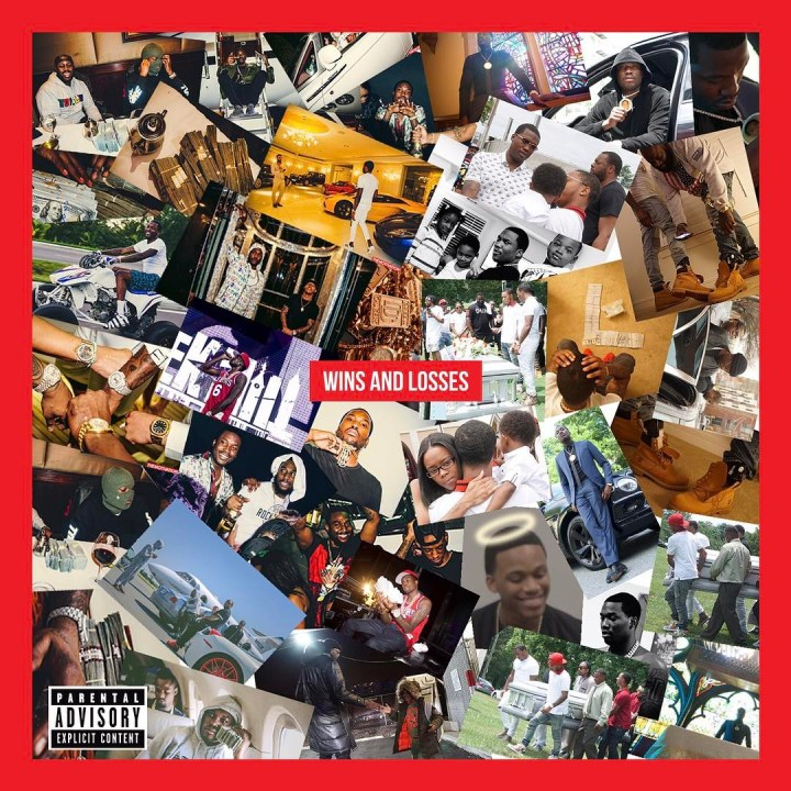 Meek Mill Wins And Losses Tracklsit Album Cover