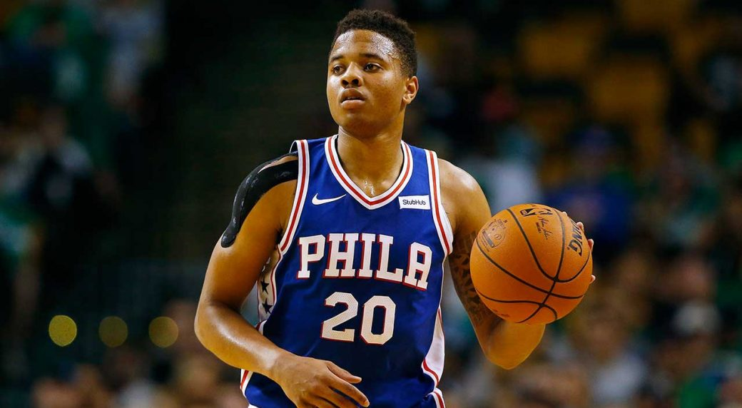 Shoulder has '17 No. 1 pick Fultz out for 76ers