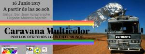 caravana multicolor