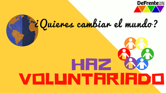 voluntariado DeFrente