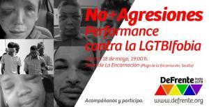 no más agresiones día contra la lgtbfobia
