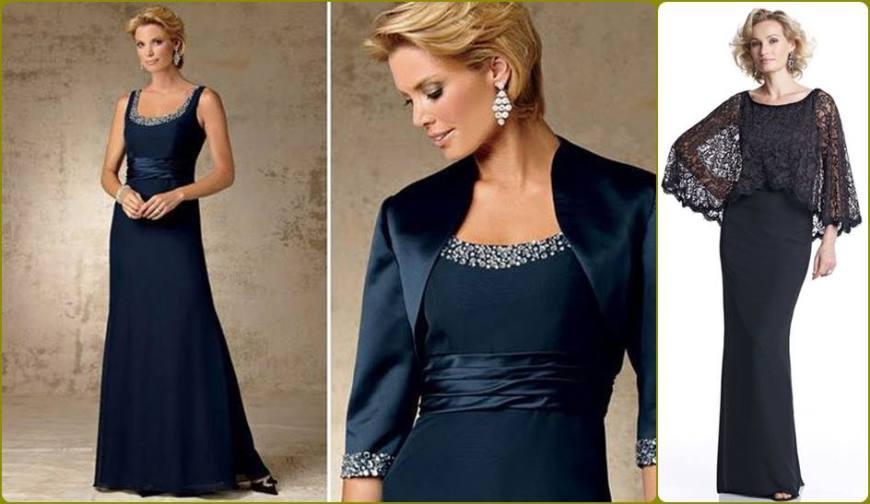 vestido para a mãe da noiva ou noivo - moda anti-idade - longo, bodas de casamento - defrenteparaomar.com