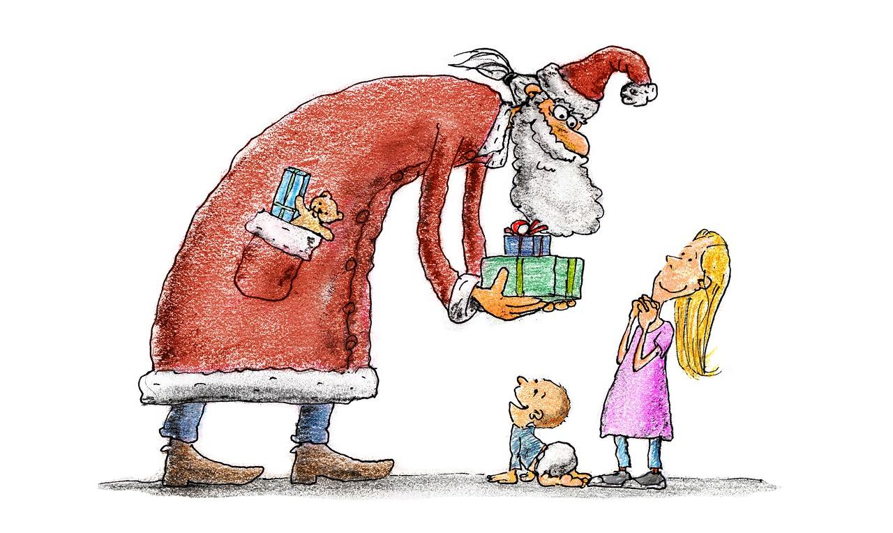 Papai Noel existe - voluntariado no Natal