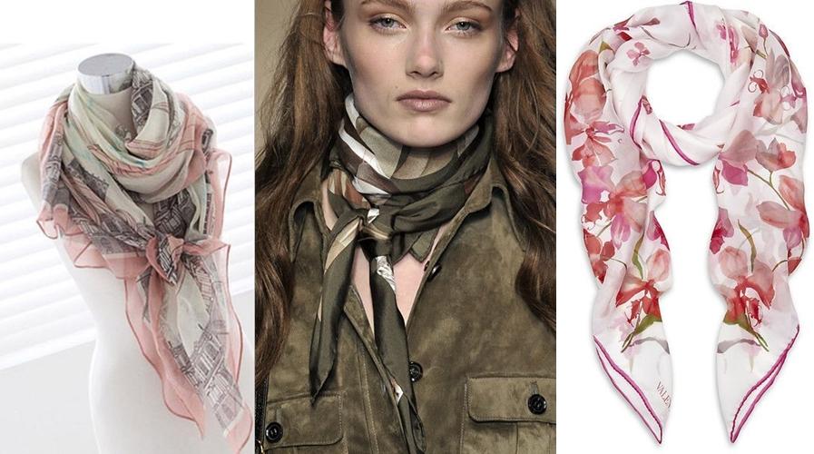 Moda anti-idade: lenços para usar no pescoço