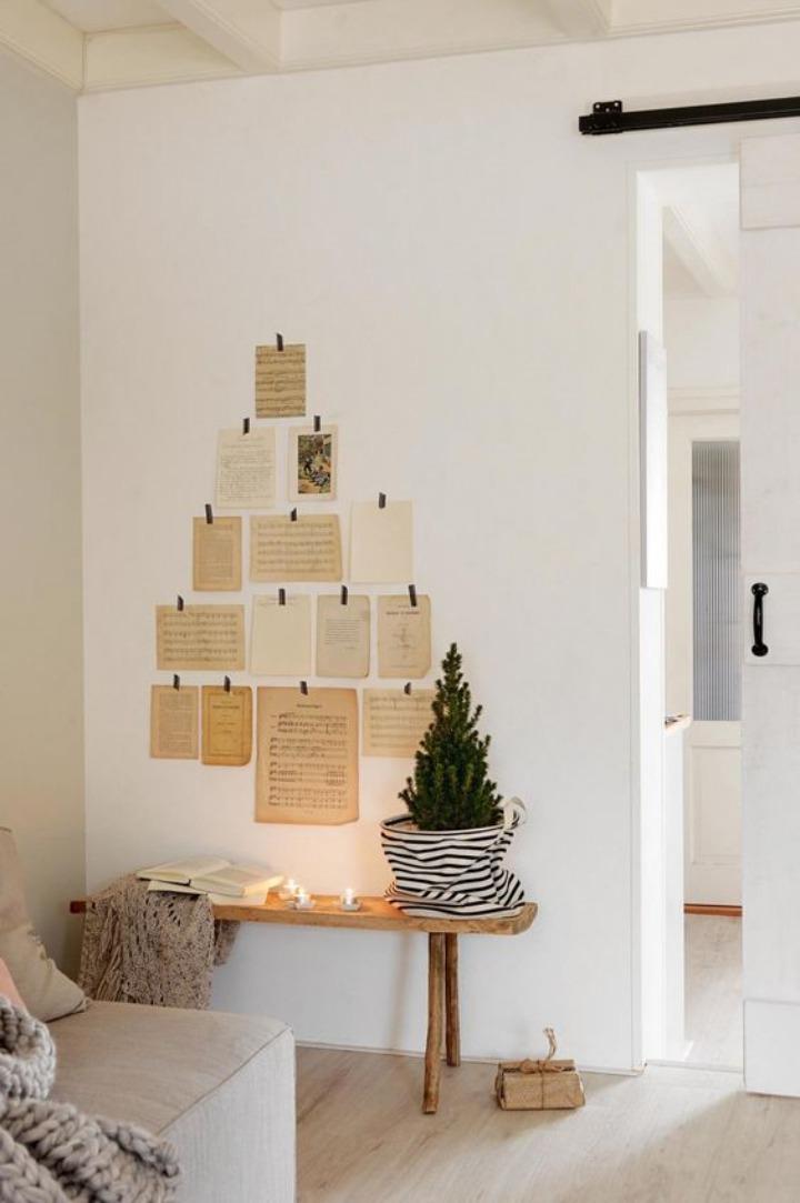Ideias para fazer sua árvore de Natal criativa