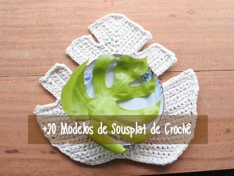 DIY: +20 Modelos de Sousplat de Crochê