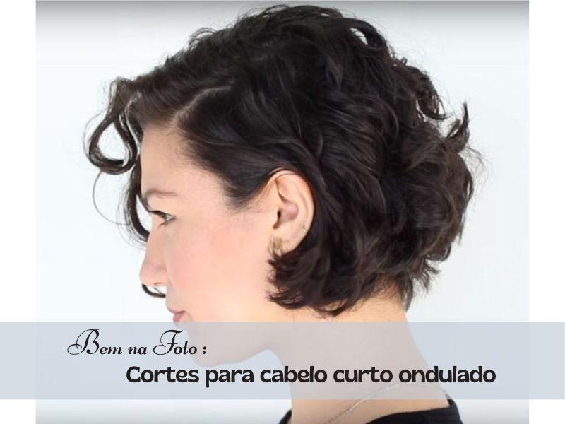 Bem na Foto: 17 Cortes de cabelo curto ondulado