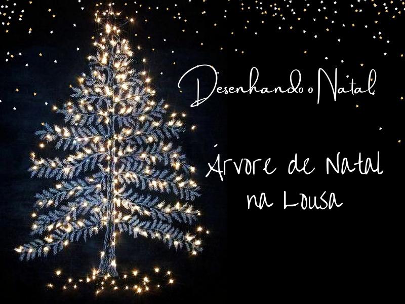 Desenhando o Natal - Árvore de Natal na Lousa