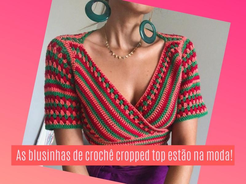 As blusinhas cropped top estão na moda!