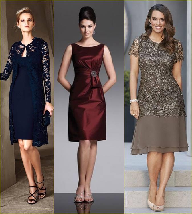 Moda anti-idade: vestido curto para mãe da noiva ou noivo