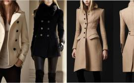 casaco clássico de inverno