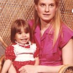 Brenda Lee Harvey Martinez with her daughter Stephanie